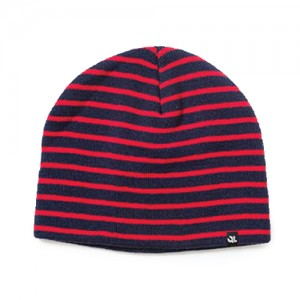 57a1045877e THE QUIET LIFE Horizon Beanie - Navy Red